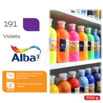 Tempera Alba Magic 700 cc Botella Violeta
