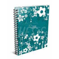 Cuaderno Arte A4 Bloom Rayado