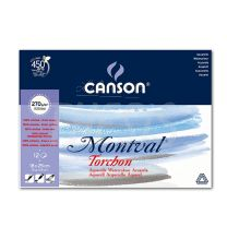 Block Canson Montval 270 gr 18 x 25 12 hjs Torchon