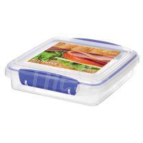 Taper Sistema Klip It 450 ml Sandwich Box Azul (1645Zs)