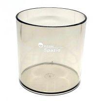 Posalapices circular 8.5 cm de diametro humo (0462HT) Pizzini