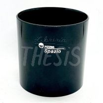 Posalapices circular 8.5 cm de diametro negro (0462HT) Pizzini