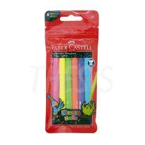 Marcador escolar Faber Castell 45 Fiesta x  6 Neon  (555304)