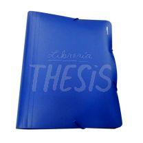 Clasificador plastico 12 divisiones A4 azul Lama-Office