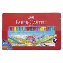 Set Faber Castell  Combinado Lapices + Connector Pen  (115880)