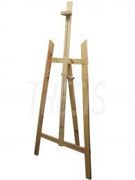 Atril de madera de pino sin lustrar 150 cm