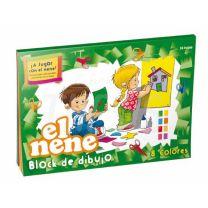 Block escolar de dibujo El Nene Nº 5 Color