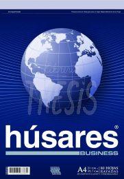Block Husares Business A4 rayado