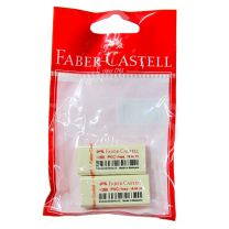 Gomas lapiz PVC free 7086 blister  x 2 Faber Castell