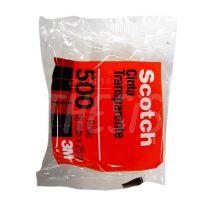 Cinta adhesiva de polipropileno 12 mm x 25 metros Scotch 500