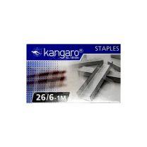 Broches para abrochadora 26/6  X  1000 Kangaro
