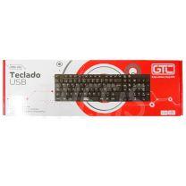 Teclado USB GTC  (KBG-204)