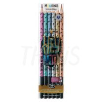 Lapices Coloring Metalizados blister x   6  (3011306) Mooving