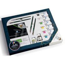 Kit Plantec Autor con productos para oleo