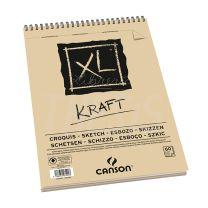 Block Canson Album XL Kraft A4 90 gr 60 hjs