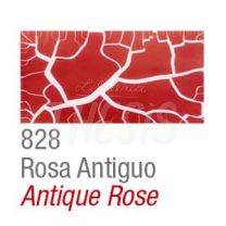 Craquelador color set 2 frascos 37 cc  rosa antiguo Acrilex