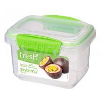 Taper Sistema Fresh 400 ml Rectangular Verde (951540)