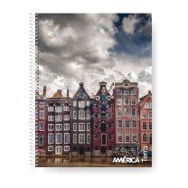Cuaderno America A4 29,7 80 hojas Cuadriculado Terra